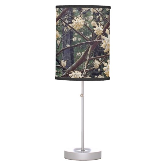 Asian Tree Flower Table Lamp