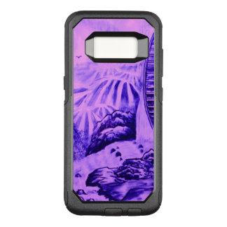Asian Wallpaper pink blue OtterBox Commuter Samsung Galaxy S8 Case