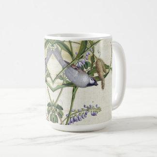 Asian Wheat Birds Wildlife Wildflower Flowers Mug