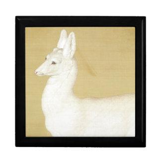 Asian White Roe Deer Wildlife Animal Gift Box