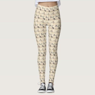 Asian Women's Leggings