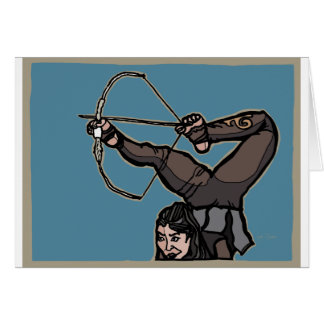 AsianFeetArcher Card