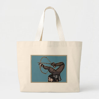 AsianFeetArcher Large Tote Bag