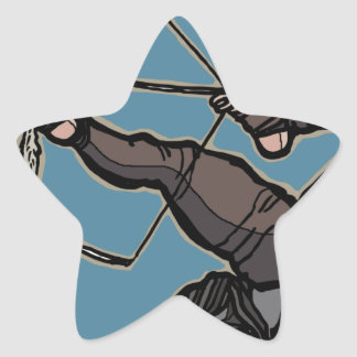 AsianFeetArcher Star Sticker