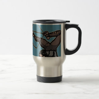 AsianFeetArcher Travel Mug