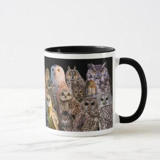 Asio and otis with raptors mug
