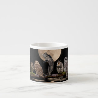 Asio dancing with the owls espresso mug
