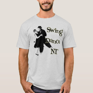 Ask A Lady To Dance - back T-Shirt