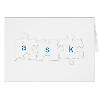 Ask About Autism Cup Card