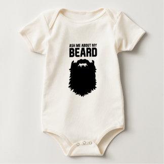 Ask About My Beard Baby Bodysuit