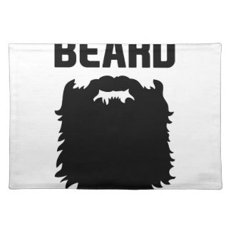 Ask About My Beard Placemat