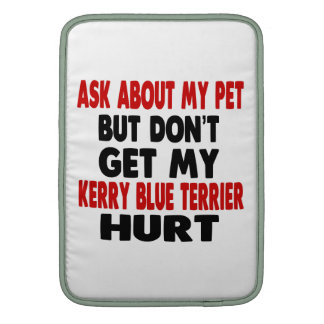 Ask About my Kerry Blue Terrier Sleeve For MacBook Air