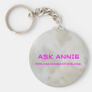 Ask Annie Keychain