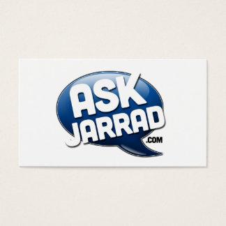 Ask Jarrad Promo Biz Card