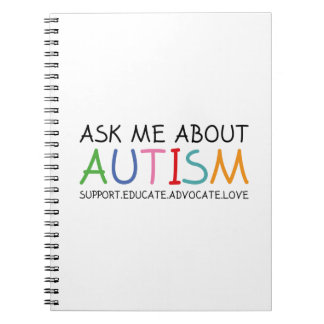 Ask Me About Autism Notebook