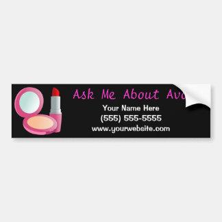 Ask Me About Avon Bumper Sticker