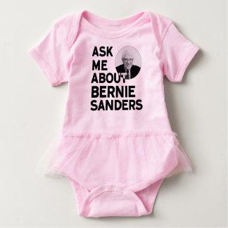 Ask Me About Bernie Sanders Baby Bodysuit