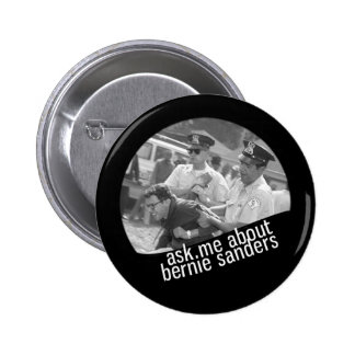 Ask Me About Bernie Sanders (V2) 2 Inch Round Button