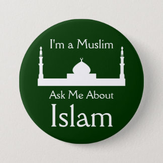 Ask Me About Islam 3 Inch Round Button