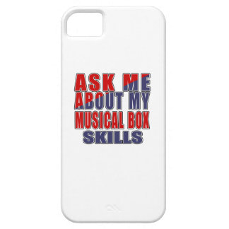 ASK ME ABOUT MUSICAL BOX MUSIC iPhone 5 COVER