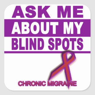 Ask Me About My Blind Spots - Stickers