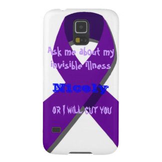 Ask Me About My Invisible Illness Cases For Galaxy S5
