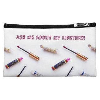 """""""Ask me about my Lipstick"""" Makeup Bag"""