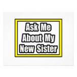 Ask Me About My New Sister Invites