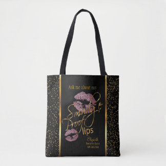 Ask me about my Smudge Proof Lips Tote Bag