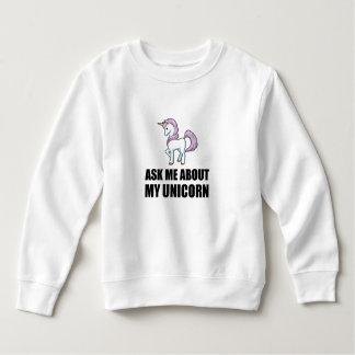 Ask Me About My Unicorn Sweatshirt