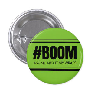 Ask me about my wraps - It Works! Global 1 Inch Round Button