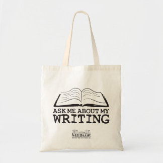 Ask Me About My Writing (Bag) Tote Bag