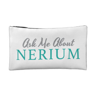 'Ask Me About Nerium' Ladies Cosmetic Bag