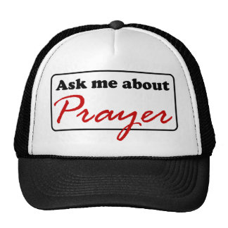 Ask Me About Prayer Trucker Hat