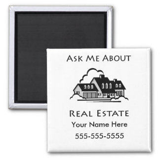Ask Me About Real Estate Magnet