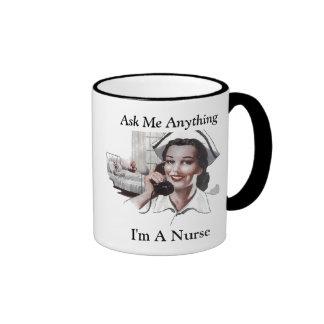 Ask Me Anything - I'm a Nurse Mug