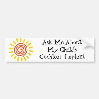 Ask Me Bumber Sticker Bumper Sticker