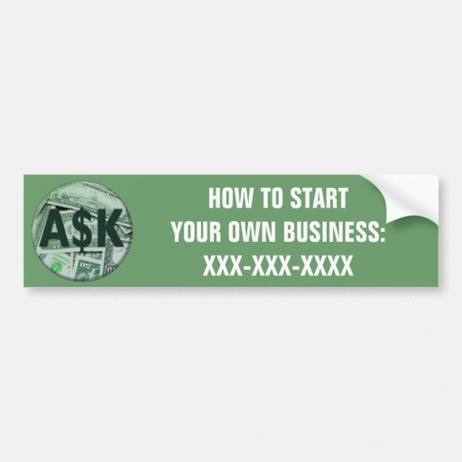 Ask Me Bumper Stickers