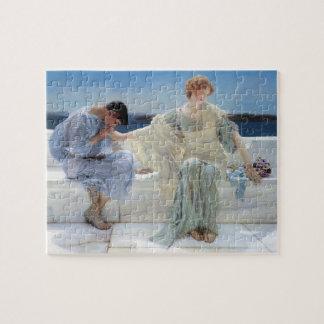 Ask Me No More by Alma Tadema, Vintage Romanticism Jigsaw Puzzle