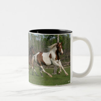 Ask me to show you poetry in motion ... Two-Tone coffee mug