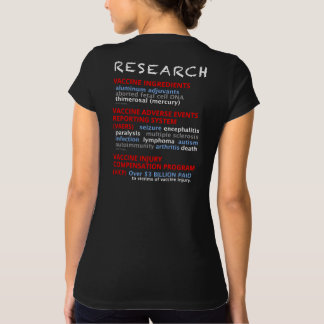 Ask Me Why I No Longer Vaccinate - Black T-Shirt