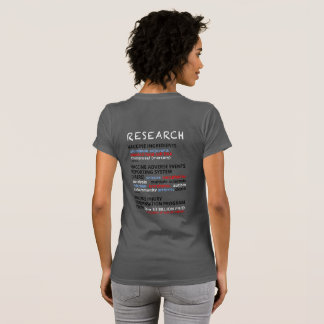 Ask Me Why I No Longer Vaccinate - Grey T-Shirt