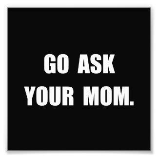 Ask Mom Photo