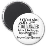 Ask Not Stage Manager