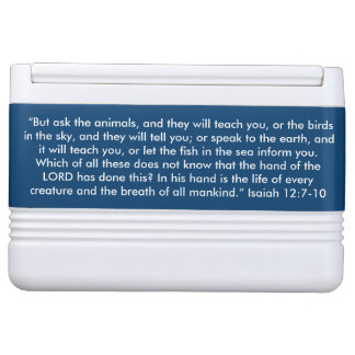 """Ask the Animals"" Igloo Scripture 12 can Cooler"