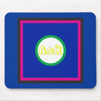 Ask - ! UCreate Ask jGibney Zazzle Mouse Pads