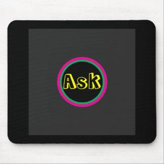 Ask - ! UCreate Ask jGibney Zazzle Mousepad