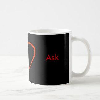 Ask - ! UCreate Ask jGibney Zazzle Basic White Mug