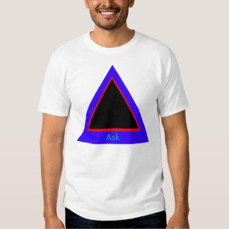 Ask - ! UCreate Ask jGibney Zazzle T-shirts