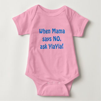 Ask YiaYia! Baby Bodysuit
